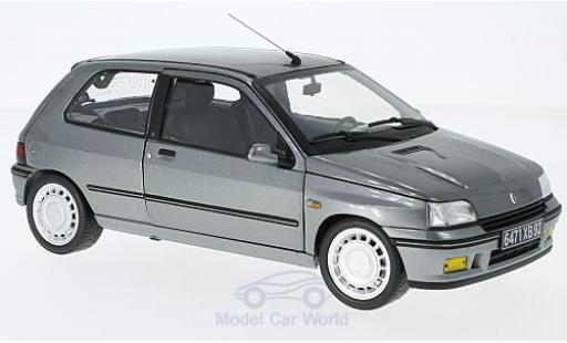 Renault Clio 16S 1/18 Norev 16S métallisé grise 1991 miniature
