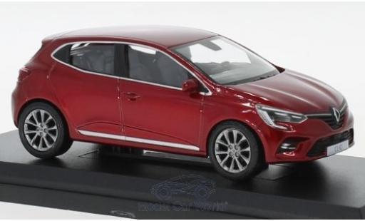Renault Clio 1/43 Norev métallisé rouge 2019 miniature