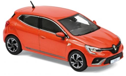 Renault Clio 1/43 Norev R.S. Line metallise orange 2019 diecast model cars