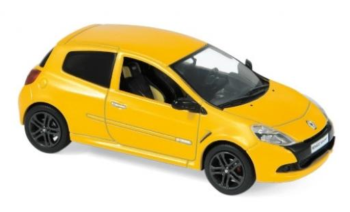 Renault Clio 1/43 Norev R.S. metallise yellow 2009 diecast model cars