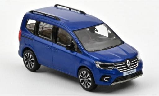 Renault Kangoo 1/43 Norev metallise blue 2021 diecast model cars