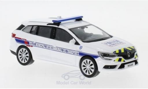 Renault Megane Sport 1/43 Norev Estate Police Municipale Intercommunale Transports 2016 miniature
