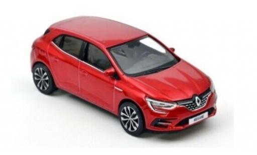 Renault Megane 1/43 Norev metallise red 2020 diecast model cars