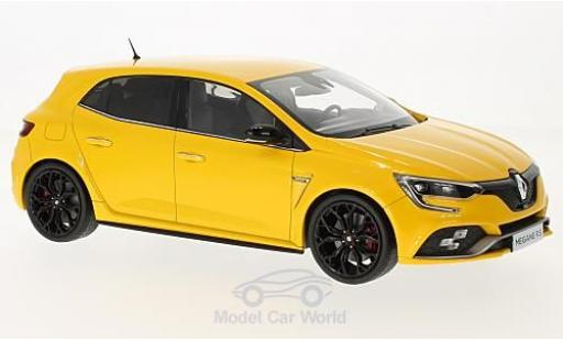 Renault Megane 1/18 Norev R.S. metallise yellow 2017 diecast model cars