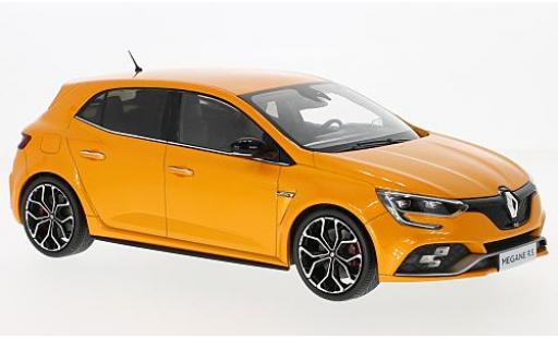 Renault Megane 1/18 Norev R.S. metallise orange 2017 miniature
