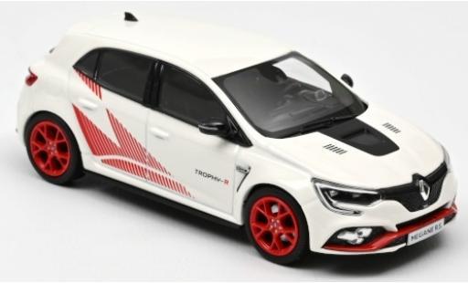 Renault Megane 1/43 Norev R.S. Trophy-R white/Dekor 2019 diecast model cars