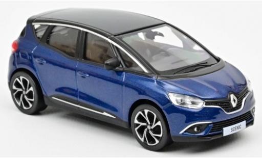 Renault Scenic 1/43 Norev metallise blue/black 2016 diecast model cars