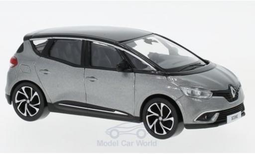 Renault Scenic 1/43 Norev métallisé grise/noire 2016 miniature