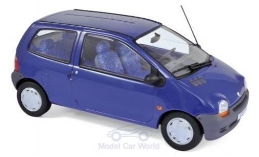 Renault Twingo 1/18 Norev blue 1993 diecast model cars