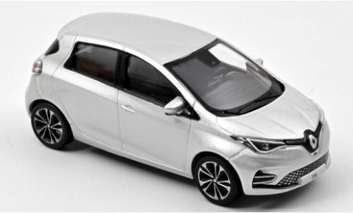 Renault Zoe 1/43 Norev ZE50 metallise grey 2020 diecast model cars