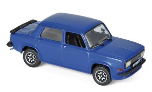 Simca 1000 1/43 Norev Rallye 3 Predotype blue 1978 diecast model cars