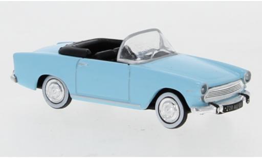 Simca Aronde 1/87 Norev P60 Oceane bleue 1960 miniature