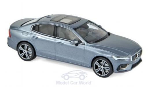 Volvo S60 1/43 Norev metallise grey 2018 diecast model cars