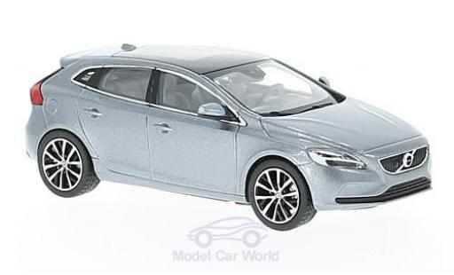 Volvo V40 1/43 Norev metallise grey 2016 diecast model cars