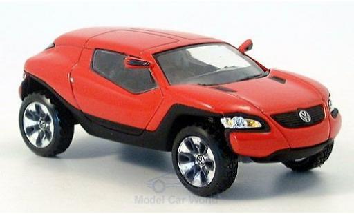 Volkswagen Concept 1/43 Norev T rouge/noire PTT 2004 Detroit Motor Show miniature