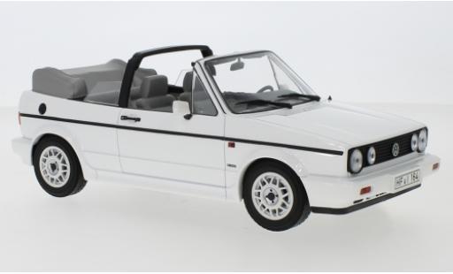 Volkswagen Golf 1/18 Norev I Cabriolet blanche 1992 miniature