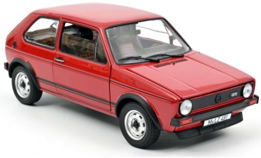 Volkswagen Golf 1/18 Norev I GTI red 1976 diecast model cars