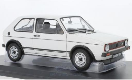 Volkswagen Golf 1/18 Norev I GTI white 1976 diecast model cars