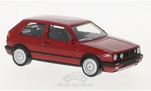 Volkswagen Golf V 1/43 Norev II GTi G60 red 1990 diecast model cars