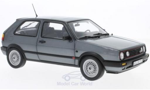 Volkswagen Golf V 1/18 Norev II GTI metallise grey 1990 diecast model cars