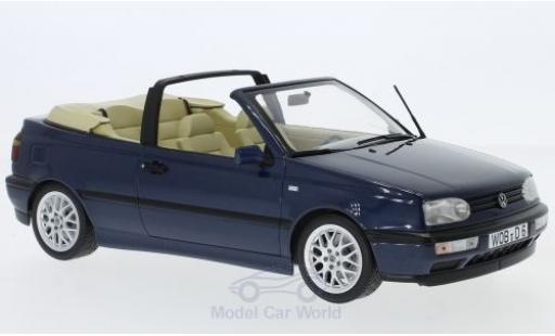 Volkswagen Golf V 1/18 Norev III Cabriolet metallic-dunkelbleue 1995 miniature