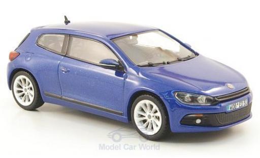 Volkswagen Scirocco 1/43 Norev 3 metallise bleue 2008 miniature