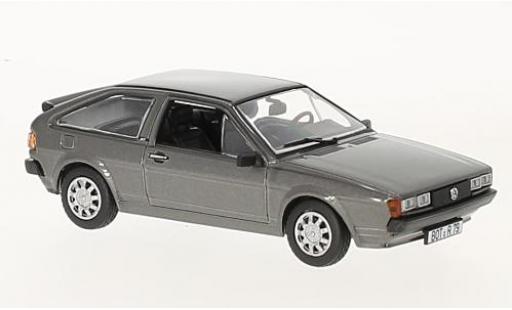 Volkswagen Scirocco 1/43 Norev II GT metallise gris 1981 coche miniatura