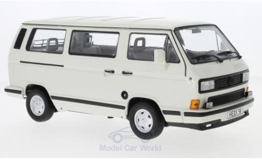 Volkswagen T3 A 1/18 Norev Multivan Whitestar blanche 1990 miniature