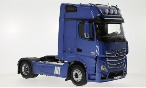 Mercedes Actros 1/18 NZG 2 GigaSpace 4x2 FH25 metallise blue diecast model cars