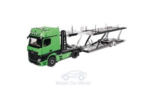 Mercedes Actros 1/18 NZG GigaSpace 4X2 FH25 green/grey 2018 Autotransporter diecast