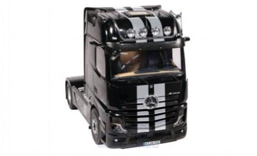 Mercedes Actros 1/18 NZG GigaSpace 4X2 noire/grise 2018 miniature