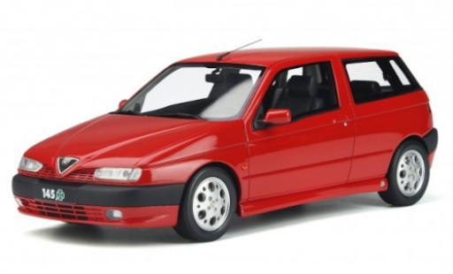 Alfa Romeo 145 1/18 Ottomobile Quadrifoglio red 1998 diecast model cars
