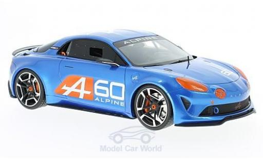 Alpine Celebration 1/18 Ottomobile Le Mans metalico azul 2015 miniatura