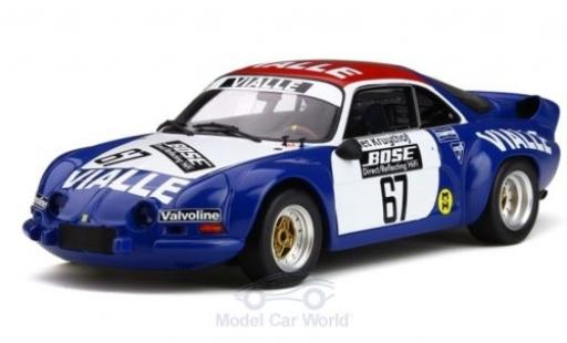 Alpine A110 1/18 Ottomobile Renault Gr.5 No.67 Rallye-Cross 1977 P.Kruythof miniature