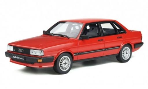 Audi 80 quattro 1/18 Ottomobile (B2) red 1983 diecast model cars