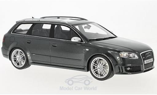 Audi RS4 1/18 Ottomobile (B7) metallic-grise 2006 miniature