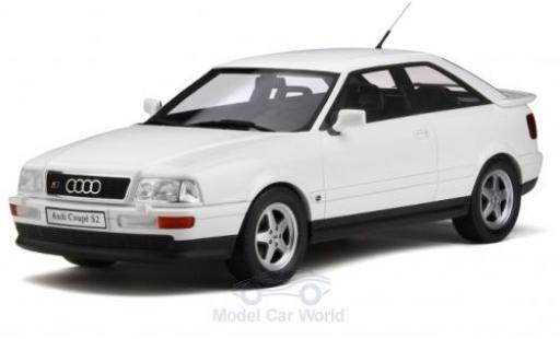 Audi S2 1/18 Ottomobile metallise blanche 1991 miniature