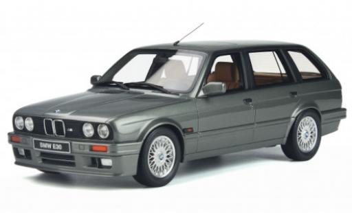 Bmw 325 1/18 Ottomobile i (E30) Touring metallise grey 1991 diecast model cars