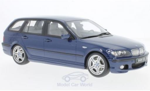 Bmw 330 E46 1/18 Ottomobile i  Touring M Pack metallise bleue 2005 miniature