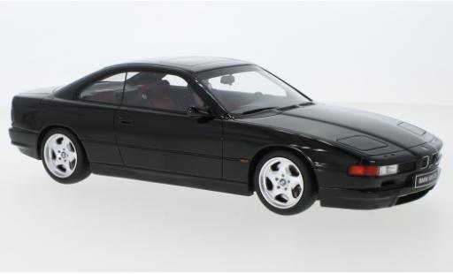 Bmw 850 1/18 Ottomobile CSi black 1990 diecast model cars