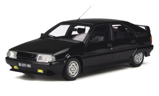 Citroen BX 1/18 Ottomobile GTI 16S GTI black 1987 diecast model cars