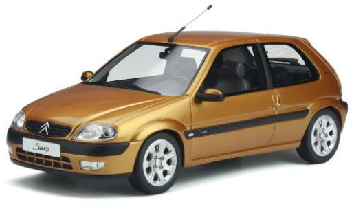 Citroen Saxo 1/18 Ottomobile VTS gold 2000 miniature
