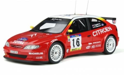 Citroen Xsara 1/18 Ottomobile Kit Car No.16 Rallye WM Rally Catalunya 1999 P.Bugalski/JP.Chiaroni coche miniatura