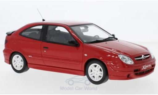 Citroen Xsara 1/18 Ottomobile Sport Phase 1 rouge 2000 miniature