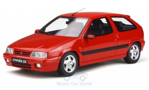 Citroen ZX 1/18 Ottomobile 16V rouge 1994 miniature