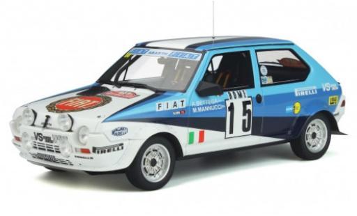 Fiat Ritmo 1/18 Ottomobile Abarth Gr.2 No.15 Rally WM Rally Monte Carlo 1980 A.Bettega/M.Mannucci diecast model cars