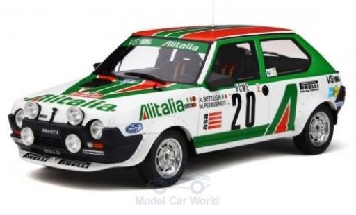 Fiat Ritmo 1/18 Ottomobile Abarth No.20 Alitalia Rallye WM Rallye Monte Carlo 1979 A.Bettega/M.Perissinot diecast model cars