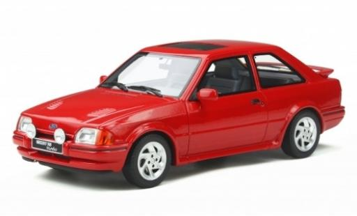 Ford Escort 1/18 Ottomobile Mk4 RS Turbo rouge 1990 miniature