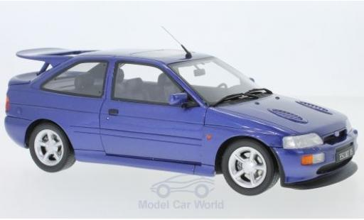 Ford Escort 1/18 Ottomobile RS Cosworth métallisé bleue 1992 miniature