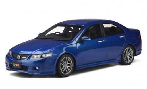 Honda Accord 1/18 Ottomobile EURO R (CL7) metallise bleue RHD 2003 miniature